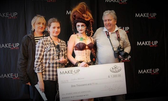 concours maquillage artistique IMATS