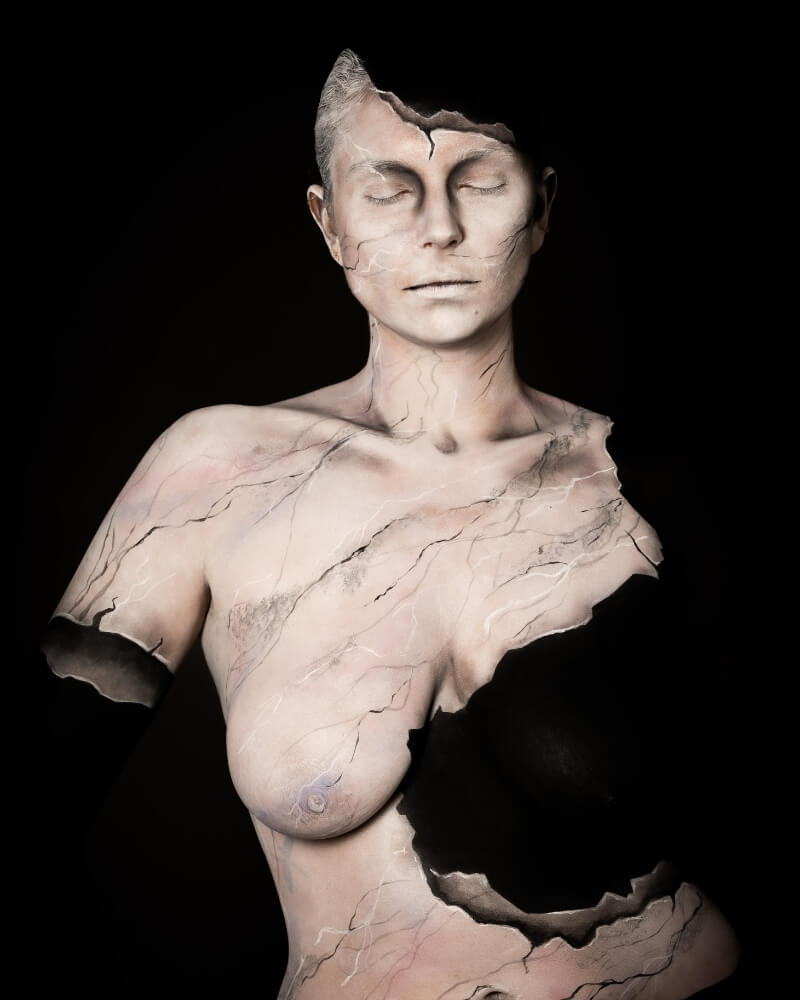 Body painting - exemple 1