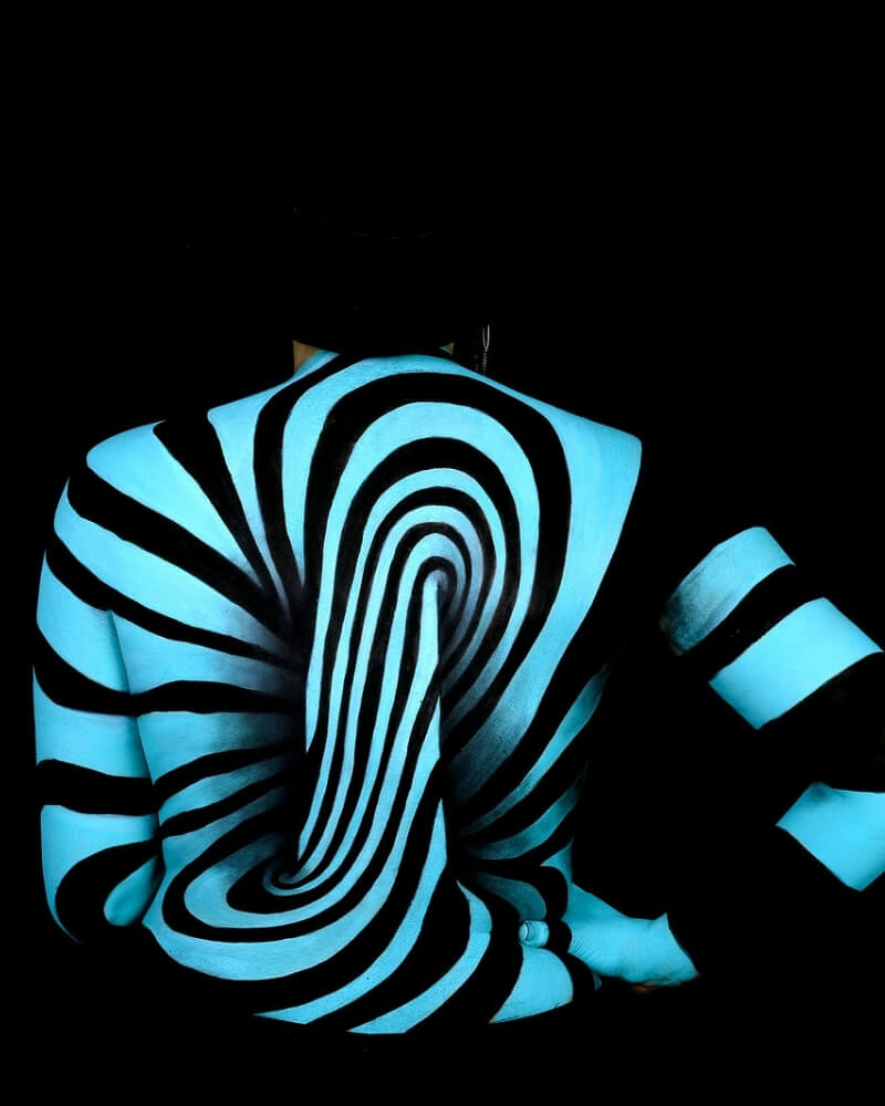 Body painting - exemple 2