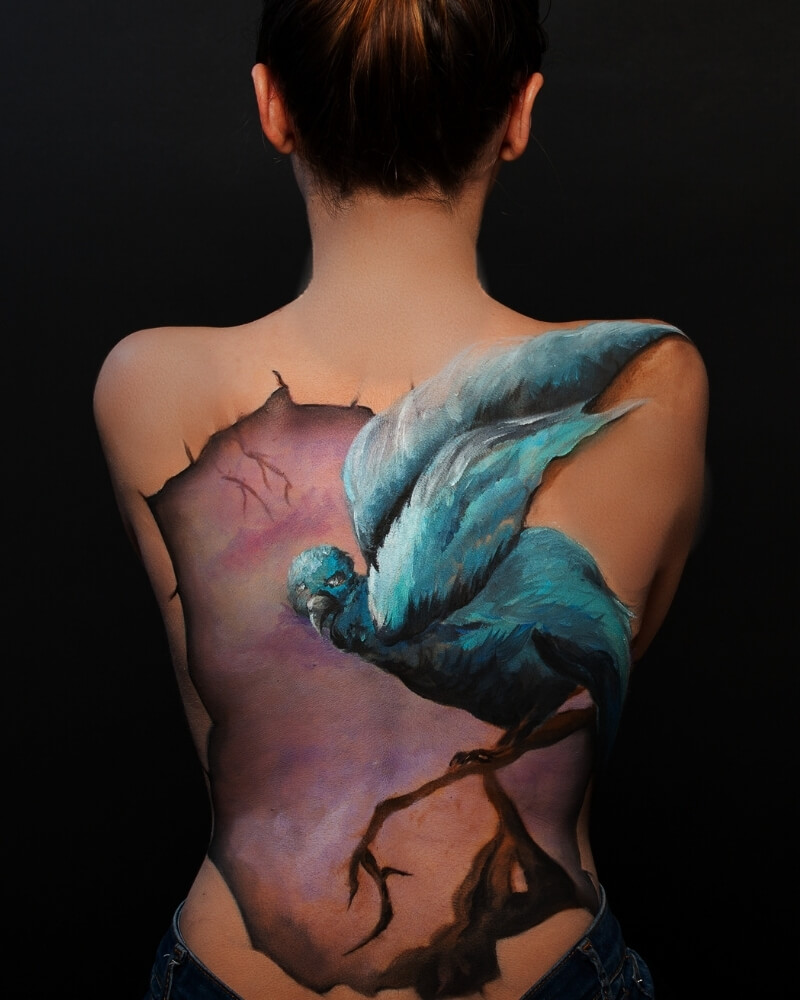 Body painting - exemple 7