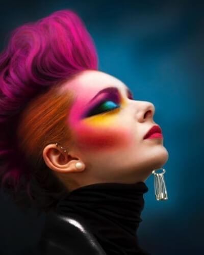 Formation maquilleur artistique professionnel 6 mois option coiffure