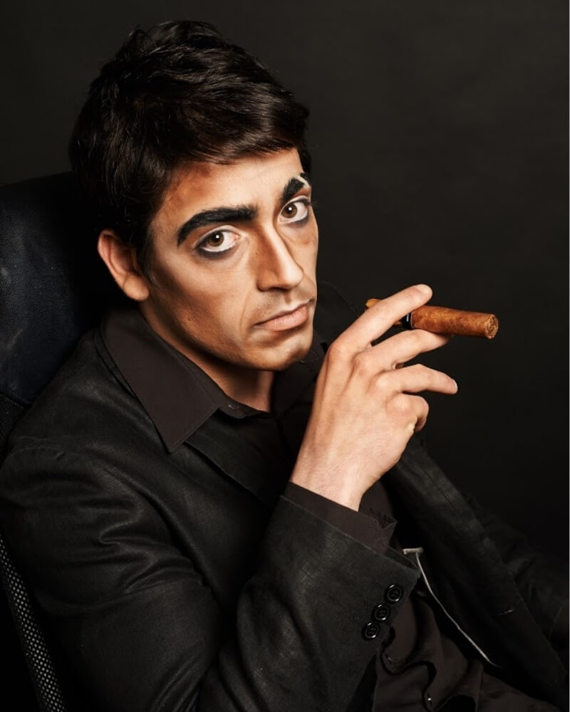 Maquillage cinéma - exemple 13