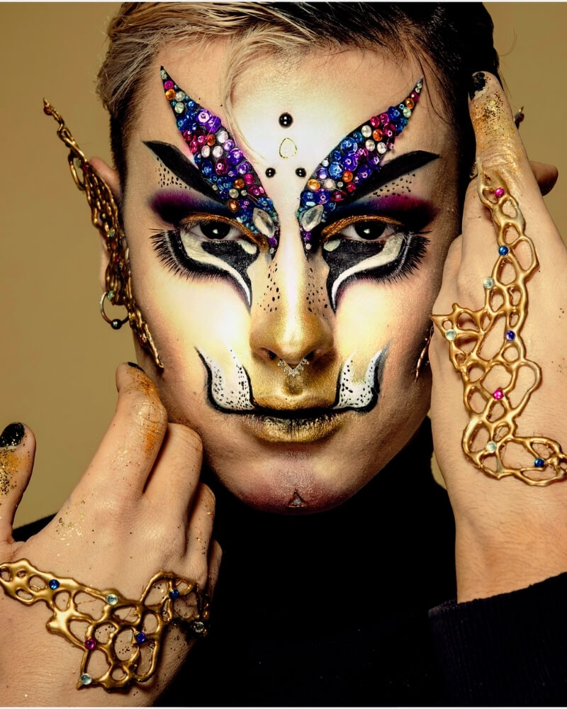 Maquillage mode - Exemple 27