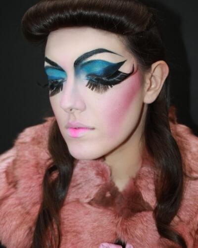 formation maquilleur artistique professionnel 10 mois option effets spéciaux et coiffure